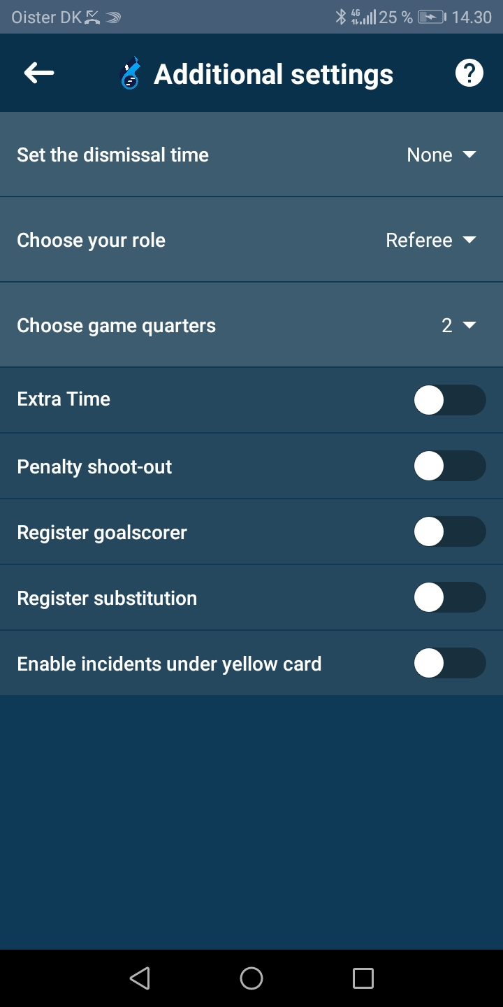 Create game option 2